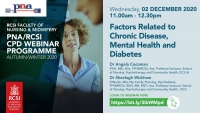 Factors Related to Chronic Disease, Mental Health and Diabetes