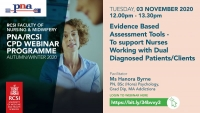Evidence Based Assessment Tools - To support Nurses working with  Dual Diagnosed Patients/Clients